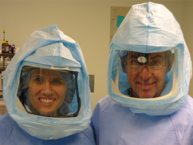 Dr. Likover and Heather Crandell P.A.-C